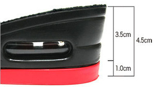 Height Increase Insoles Heel from www.heelsncleavage.com