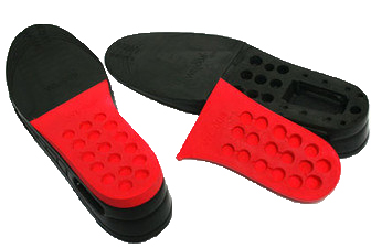Height Increase Insoles from www.heelsncleavage.com
